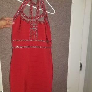 bebe Dresses - Sexy Bebe Bandage Dress, Size Small